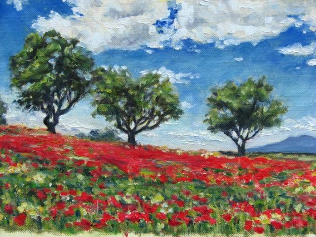 """Poppies in Provence"""