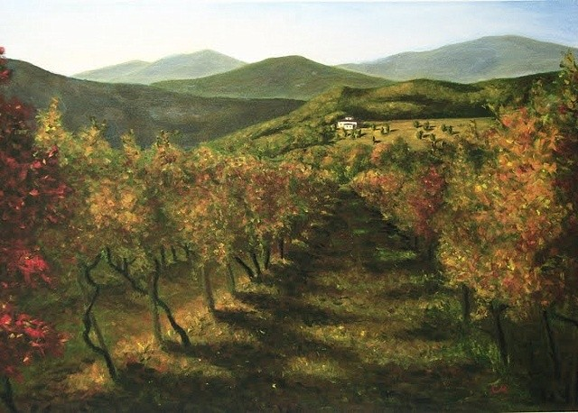"""Tuscan Vineyard"""