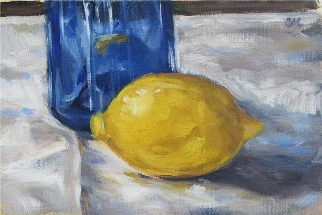 """""""Lemon and Blue Bottle"""""""