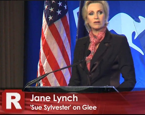 Actor Jane Lynch at USA-Australia Business Forum