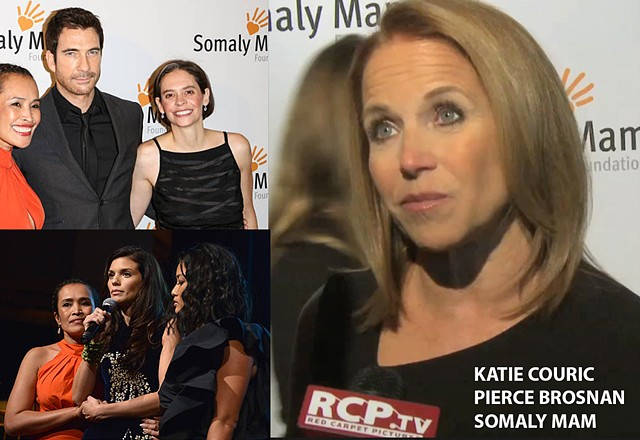Katie Couric, Pierce Brosnan, Somaly Mam Foundation