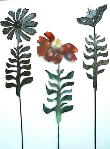 Steel Garden Flowers