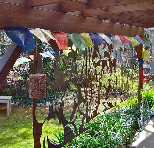 Steel Garden Screens