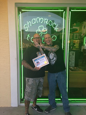 SHAMROCK TATTOO  world class tattooing in Ormond Beach FL