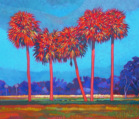 Hearts Afire painted by Gary Borse, Collection of the State of Florida