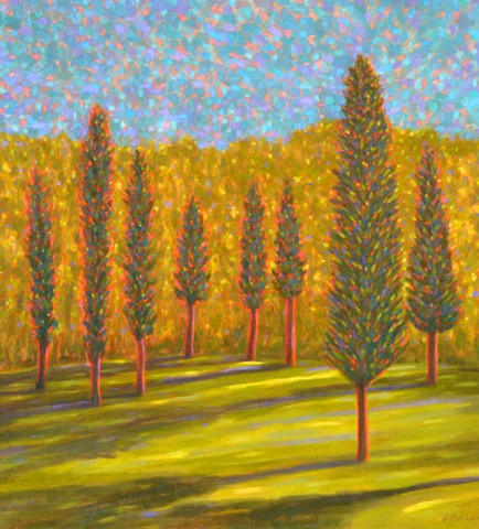 The Spirit of Trees by Florida Artist Gary Borse is available at 530 Burns Gallery Sarasota FL