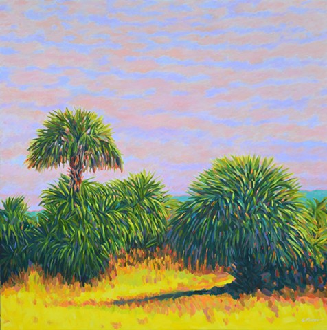 Florida Artist Gary Borse Acrylic Painting Fortissimo available at Plum Art Gallery St Augustine FL