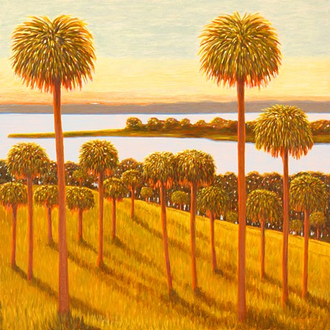Florida Fireworks II by Florida Artist Gary Borse is available at Plum Contemporary Art Gallery, St Augustine, FL