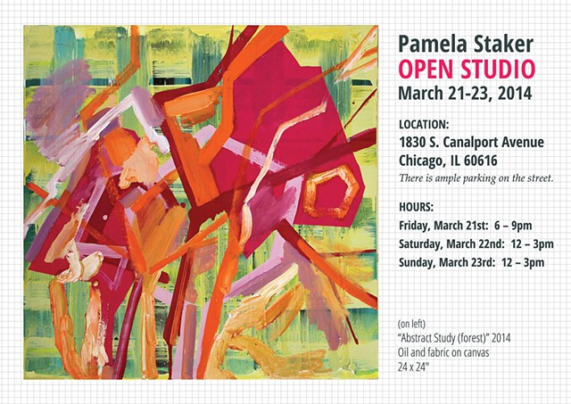 OPEN STUDIO ANNOUNCEMENT March 21-23, 2014
