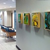 "Installation View of ""Tropical Landscape"", ""Twist"", ""Landscape"", ""Dark Landscape"" and ""Splash"""