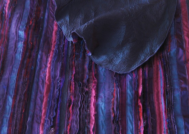 Silk-strip Shawl