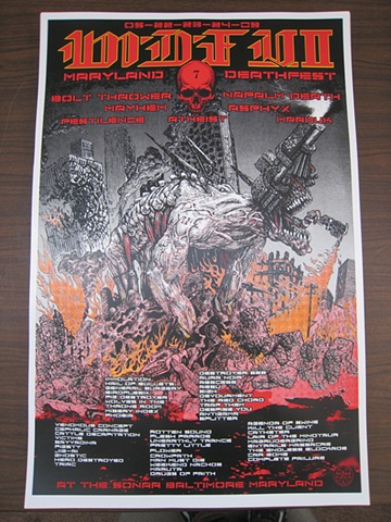 Maryland Deathfest Poster