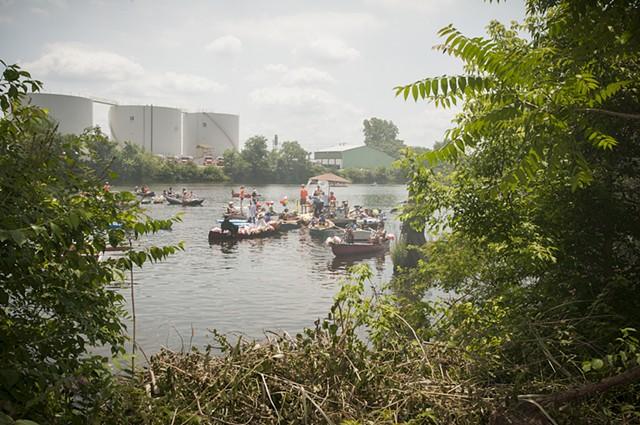 Tidal Schuylkill Boat Parade