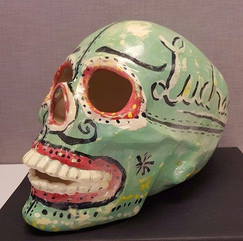 day of the dead luchador