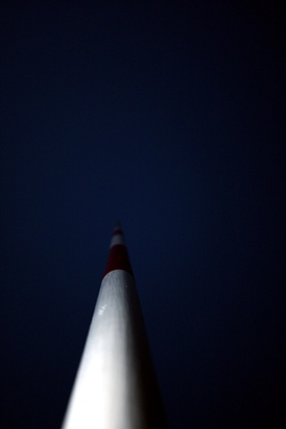 pier marker, lake geneva, wi
