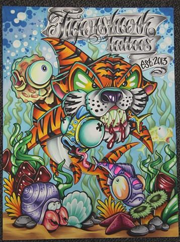 Tiger Shark Tattoos