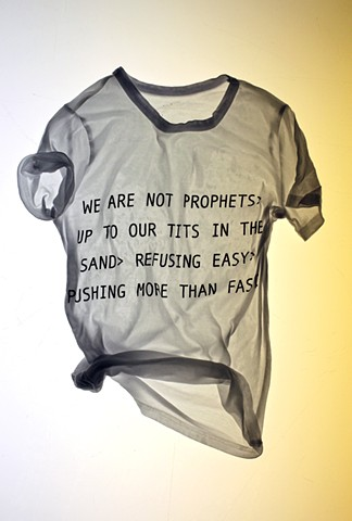 We Are Not Prophets