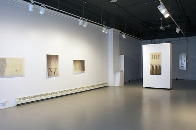 Soft Light, Hard Landing: Exhibition Installation View