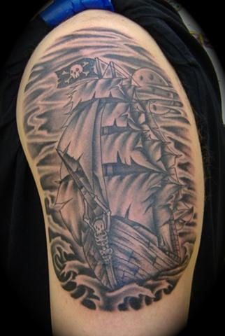 Stormy Seas Pirate Ship