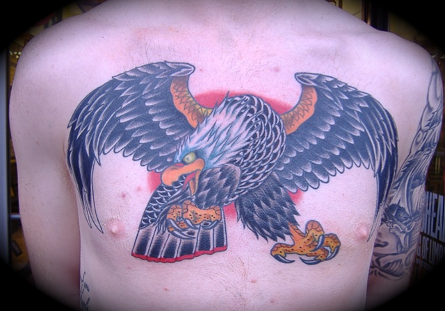 Giant Eagle Chest Piece