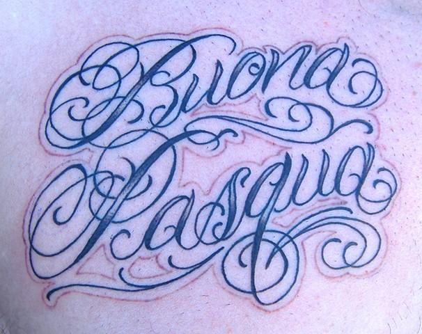 Buena Pasqua Script