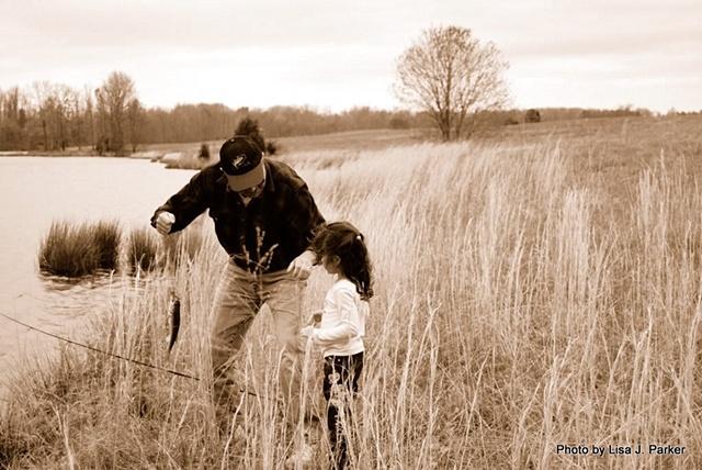 Learning to Fish - Amelia, VA