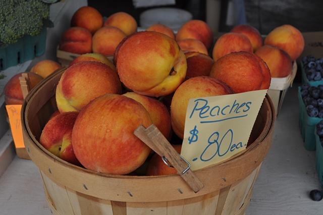 Summer Peaches - Upstate NY
