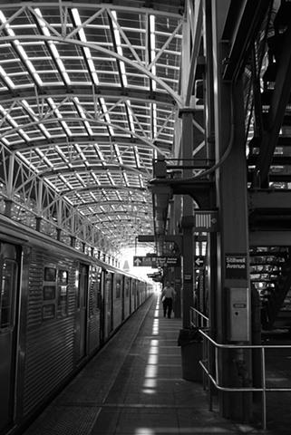 Coney Island, NY Subway Station