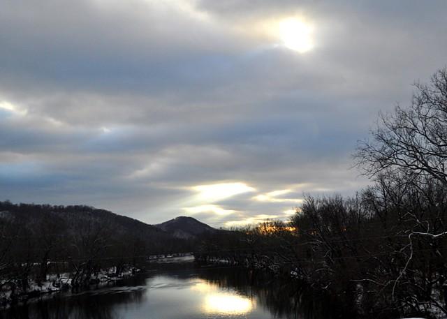 Roadin: Winter Dusk - Shenandoah Valley, VA