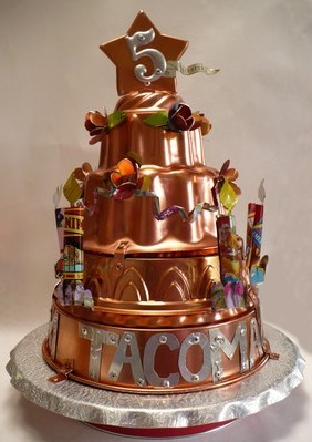 Cake for Tacoma Art Museum