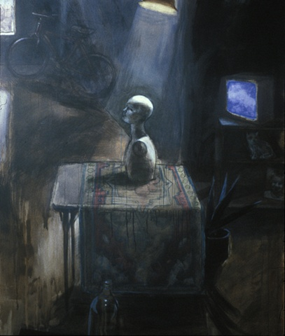 Untitled (in the basement)