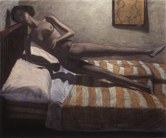 Untitled 36 (Mannequin on the Bed)