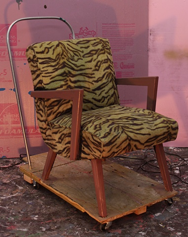 Untitled (with an armchair)