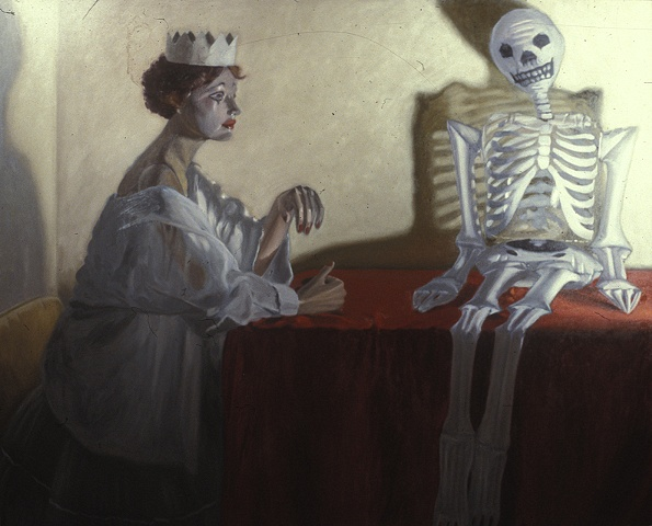 Untitled 21 (The Princess and the Skeleton))