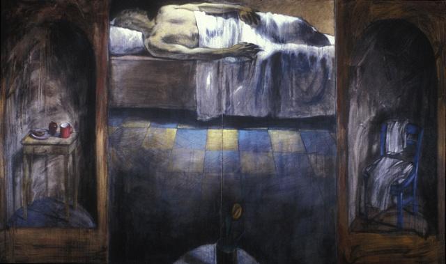 Paul in bed