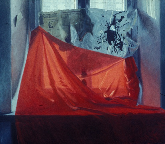 Untitled 13 (White and Red Still-life)