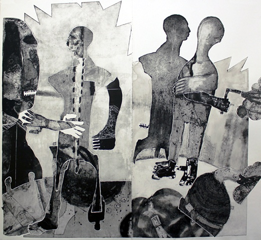 Untitled (with four figures)
