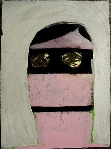 Untitled ( in a mask)
