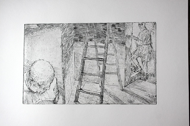 Untitled (with a ladder)