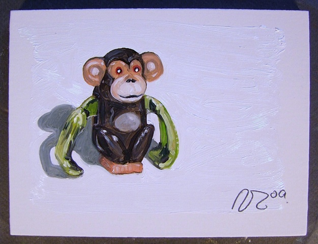 #231 Wind Up Monkey