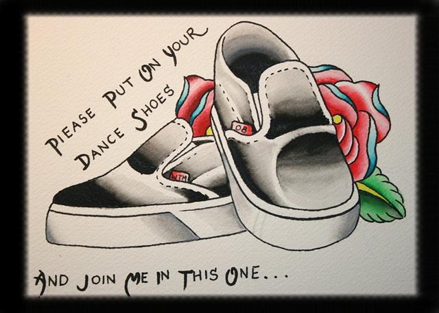 Dancin shoes