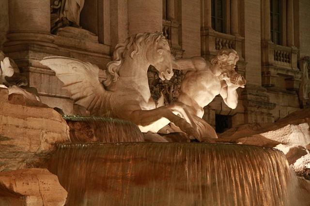 Trevi Fountain at Night 2