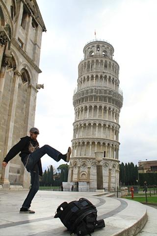 Kick the tower