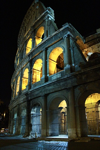 Colosseum at Night 3