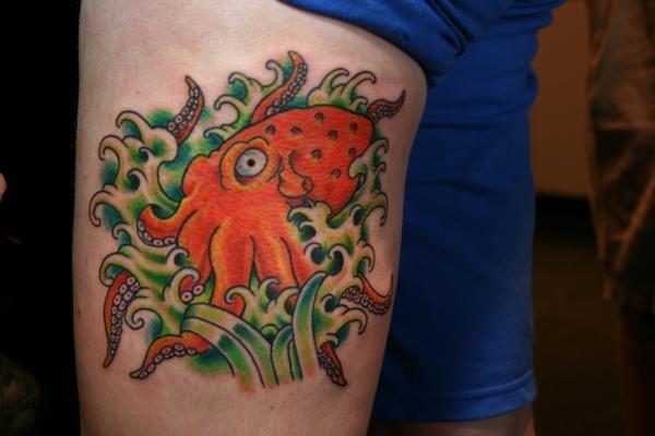 Octopus Thigh