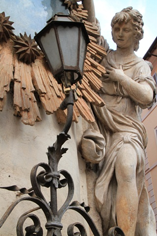 Lantern and Statue