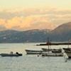 Boats Sunset Capri