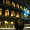 Colosseum Blurred Traffic