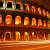Colosseum Blurry Traffic