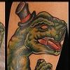 T-rex mustache